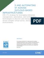 Management of Virtualized Cloud