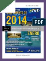 Programacion Del Campamento Del 24, 25 y 26 de Enero Del 2014 Zonal de Jni Masaya