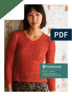 Interweave 2014 Fall Retail Catalog