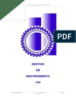 Gestion de Mantenimiento2008