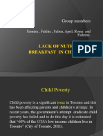 Nutritious Breakfast for All Children of Toronto