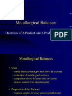 AKM Metallurgical Balances