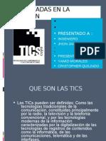 TICS APLICADAS EN LA EDUCACIÓN