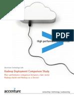 Accenture Hadoop Deployment Comparison Study