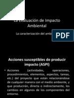 Evaluación del Impacto Ambientalii