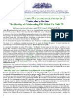 The Reality of Celebrating Eid Milad Un Nabi [Pbuh]