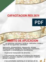 Capacitacion Res 2674