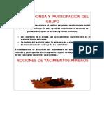 Mesa Redonda y Participacion Del Grupo