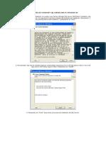 Manual Para Instalar Microsoft SQL Server 2005 en Windows XP