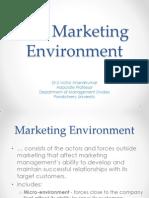 Marketing Environment (1)