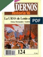 H16 La Urss de Lenin a Stalin