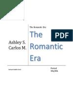 the romantic era
