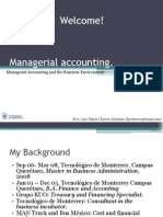 Nature and Objectives of Managerial Accounting