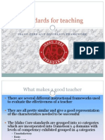standards for teaching
