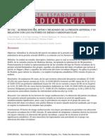 - ALTERACIÓN DEL RITMO CIRCADIANO DE LA PRESIÓN ARTERIAL Y SU