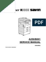 Ricoh Aficio 150, Aficio 180 Service Manual
