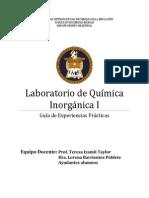 Guia Laboratorio Qca Inorg i Version 2013 Completa