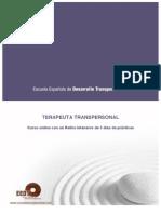 Formación Terapeuta Transpersonal-Becas Latinoamérica