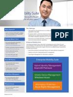 MS Enterprise Mobility Suite Datasheet
