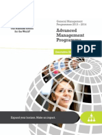 Advanced Management Programme-InSEAD