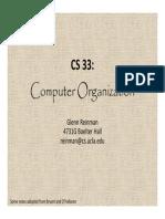 Computer Organization 33