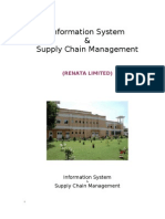 Supply Chain Management in Renata Limited