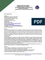 Edital 2014-1-0 Artes Uberlandia