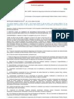 instrução normativa nº 1, de 13 de junho de 2008, GSIPR