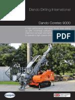 Dando Coretec 9000 Core Drilling Rig Australia
