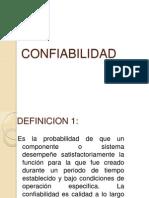 Confiabilidad 1 IMC
