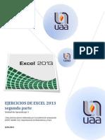 2 Ejercicios de Excel2013 Funciones