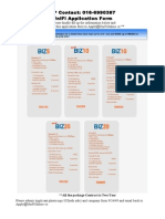 Business - UniFi Application form