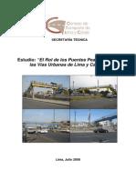 El Rol de los Puentes Peatonales en las Vías Urbanas de Lima y Callao (1)