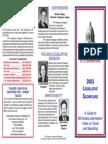 2003 Taxpayers League of Minnesota Scorecard