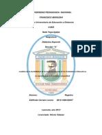 Ensayo II Didactica