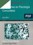 Jaime Alfaro - Discusiones En Psicología Comunitaria[1]