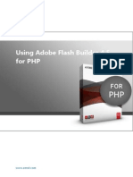 Using Flash Builder for PHP