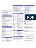 Php Cheat Sheet v2