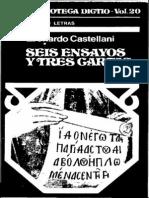 Castellani - Seis Ensayos y Tres Cartas