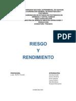 Universidad Nacional Experimental de Guayana-finanzas