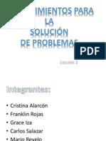 Procedimientos para la solucion de problemas.pptx