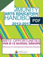 va handbook12-13 community art educ
