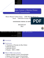 Slide - Mmc e Mdc Generalizados