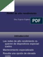 [CNSL Bolivia 2005]Redes de alto rendimiento