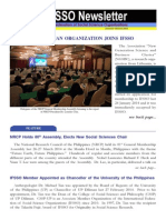 IFSSO Newsletter Jan-Mar 2014
