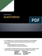 AUDITORIOS ACUSTICA