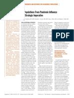 FLU Strategies Preparedness