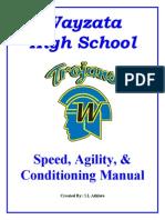 Wayzata Speed, Agility, Conditioning Manual Final