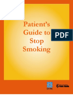 Smoking cessation guide for patients
