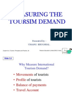 Masuring the Tourism Dimand